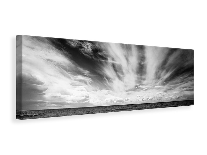 Panoramic Canvas Print The Loneliness Of A Surfer