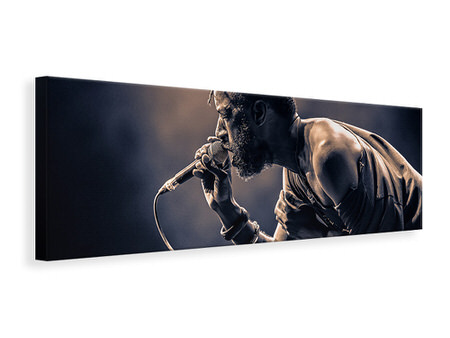 Panoramic Canvas Print Saul Williams