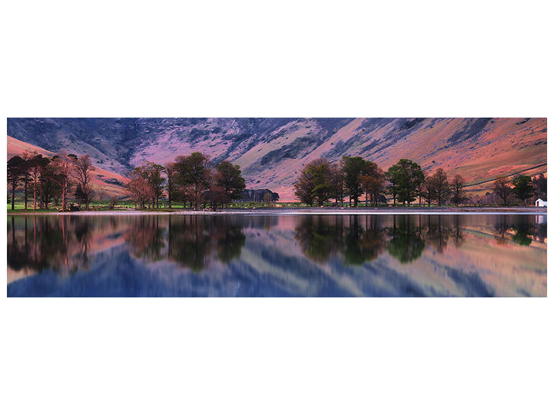 Panoramic Canvas Print Morning Dream