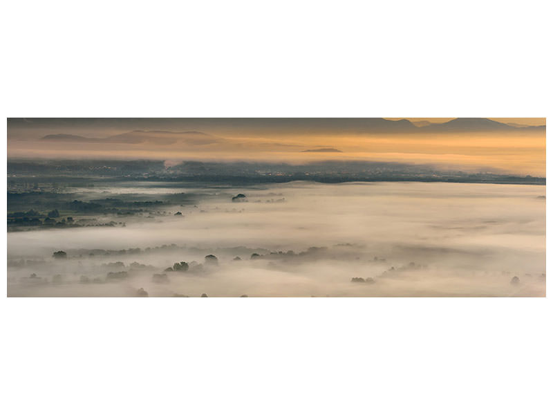 Panoramic Canvas Print Untitled IV