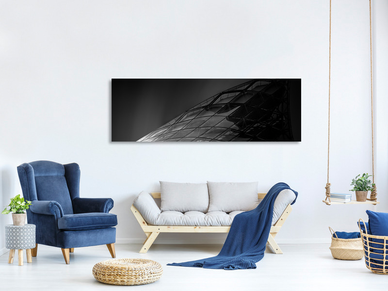 Panoramic Canvas Print Space, Last Final Frontier II