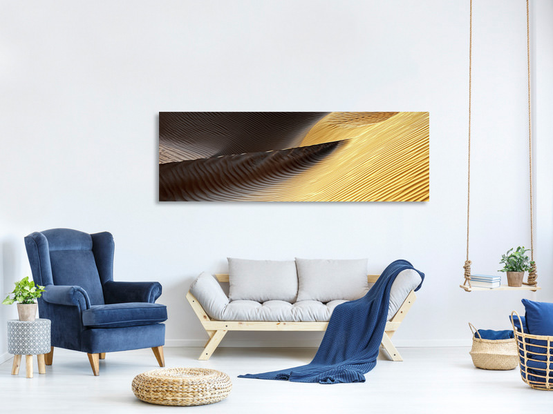 Tableau sur Toile Panoramique Shapes Of The Wind II
