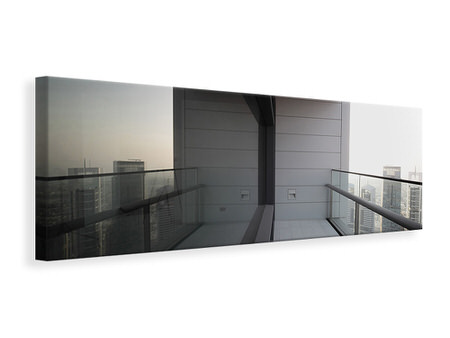 Panoramic Canvas Print Balcony In Dubai