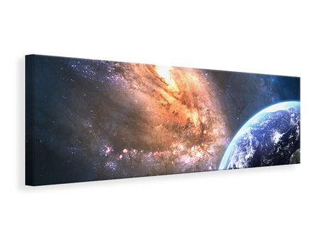 Panoramic Canvas Print Universus