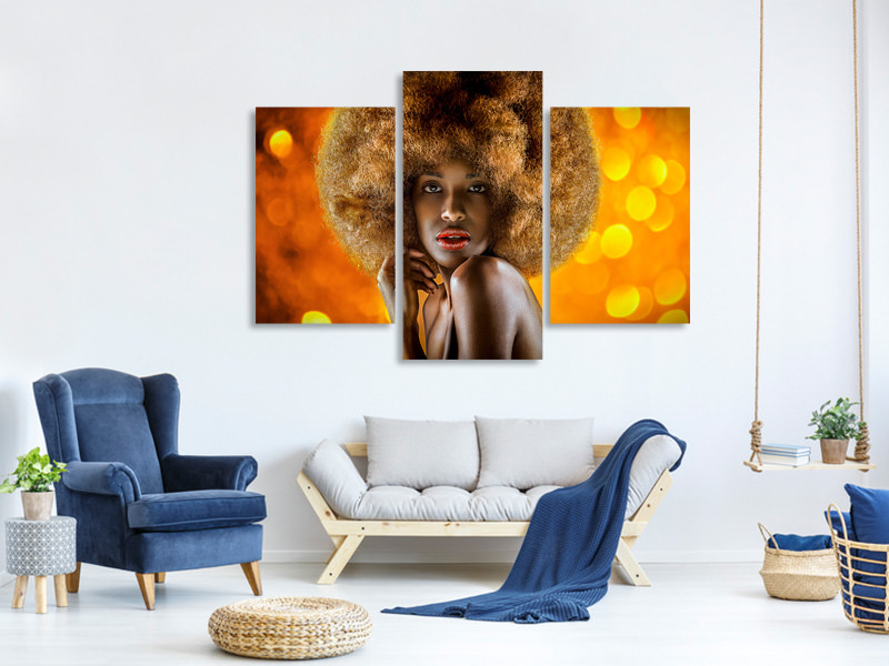 Modern 3 Piece Canvas Print The Age Of Aquarius