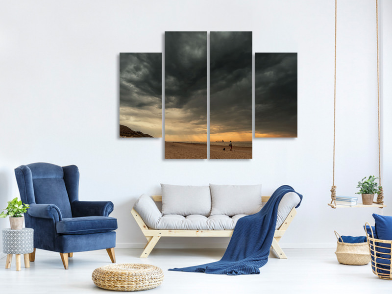 4 Piece Canvas Print So Dutch II
