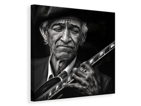 Canvas print The Guitarist