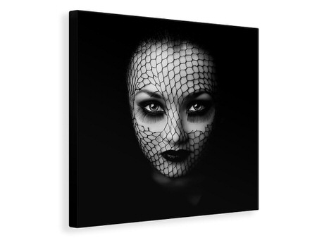 Canvas print Low Key Face