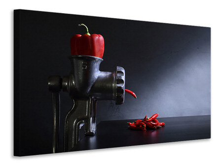 Canvas print Red And Hot
