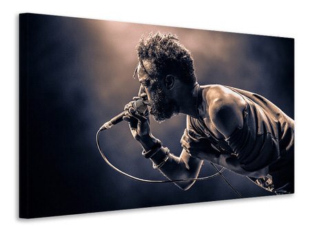 Canvas print Saul Williams