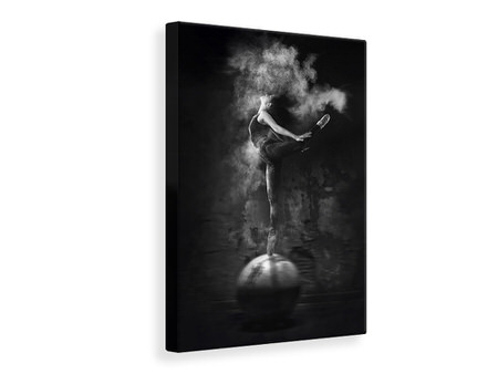 Canvas print Dance On Ball