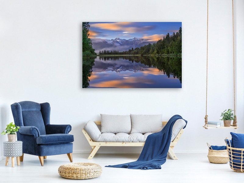 Canvas print Lake Matheson
