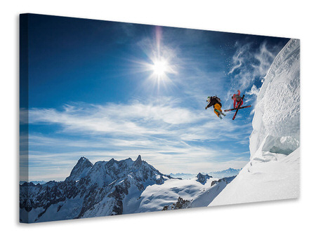 Canvas print Jumping Legends