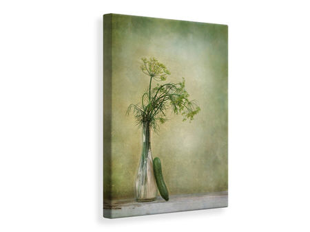 Tableau sur toile Dill And Cucumber