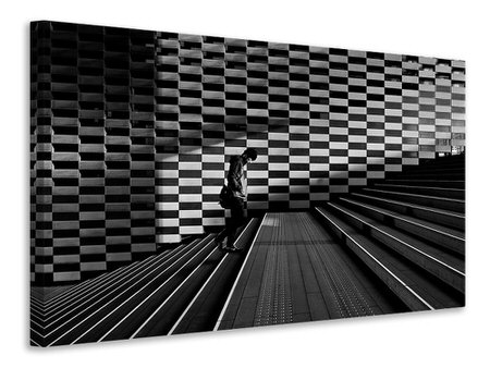 Canvas print Stairs II A