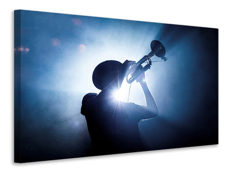 Canvas print Trumpet Player