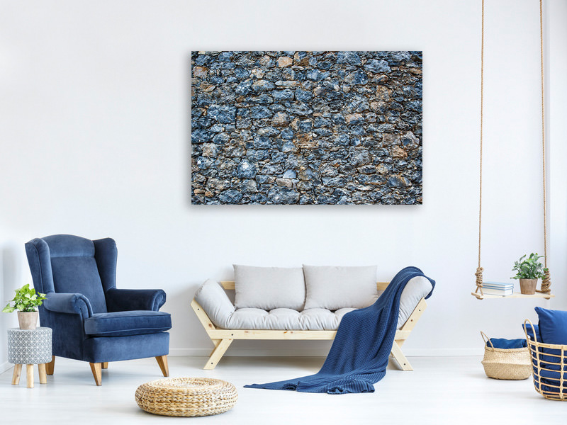 Tableau sur toile Old Stone Wall 3