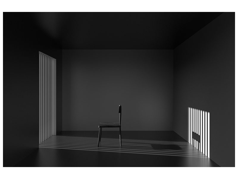 Canvas print Emptyness Of Jail