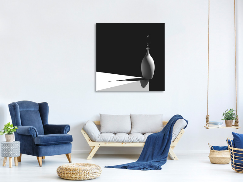 Canvas print On Corner