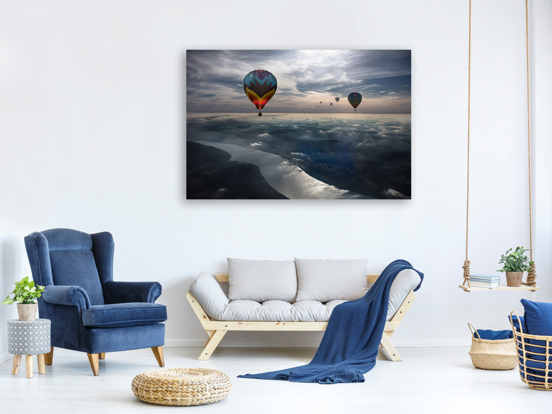 Canvas print To Kiss The Sky