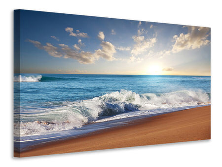 Canvas print The Waves Of The Sea