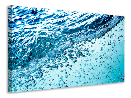 Canvas print Water In Motion