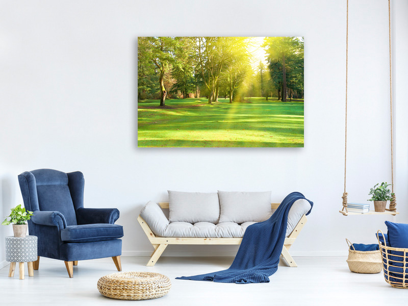 Canvas print In The Park