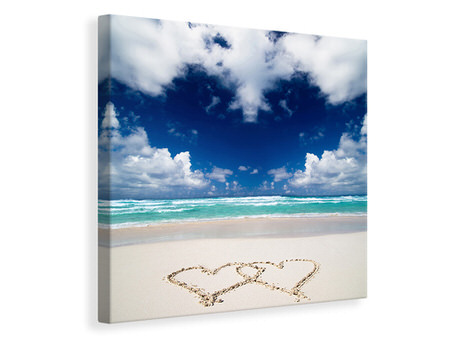 Canvas print Beach Love