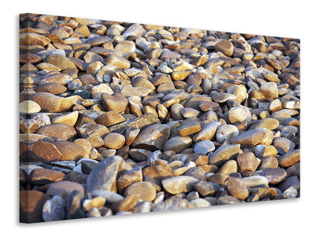 Canvas print Beach Stones