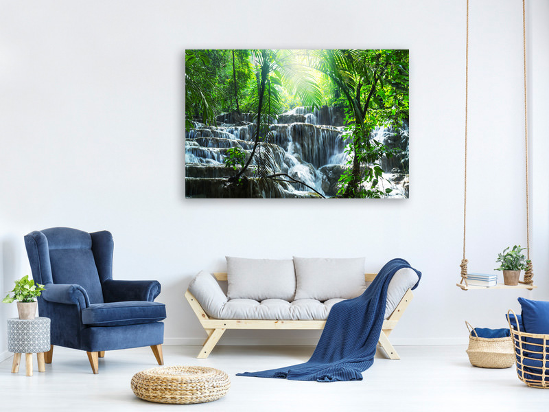 Canvas print Waterfall Agua Azul