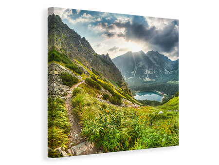 Canvas print Mountain Views