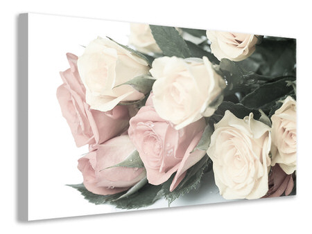 Canvas print Romantic Rose