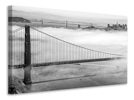 Stampa su tela Golden Gate Bridge