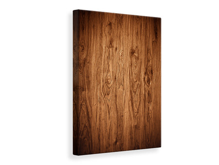 Canvas print Walnut