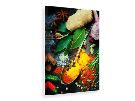Canvas print The Spice Spoon