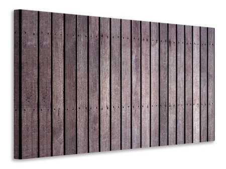 Canvas print Wood Wall