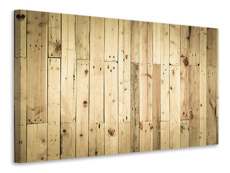 Canvas print Wood Panels