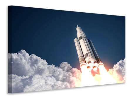 Canvas print Rocket Start