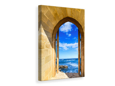 Canvas print The Gate To The Sea