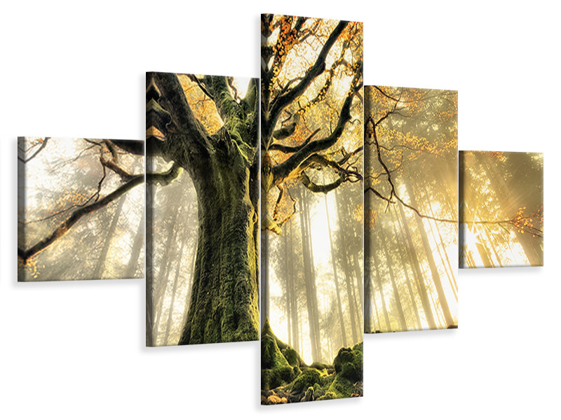 5 Piece Canvas Print November