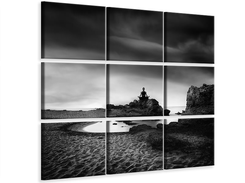 9 Piece Canvas Print Zen 15